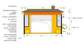 售货亭CAD图纸