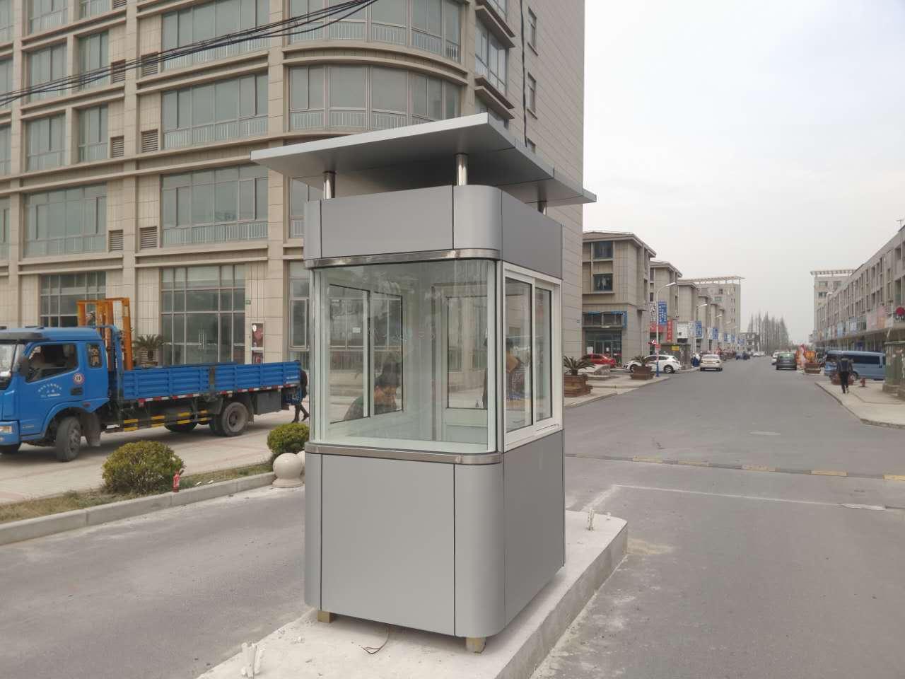 铝塑板岗亭的制作工艺特点